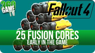 Fallout 4 - 22 Fusion Core Locations early in the Game - How to get 25 Fusion Cores very early
