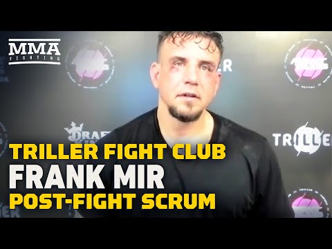 Frank Mir Believes He Made Statement Going Distance in Debut - MMA Fighting
