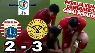 Download Video PERSIJA VS CERES NEGROS || FULL HIGLIGHT || AFC CUP || 2 - 3 MP3 3GP MP4