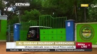 US born al-Shabaab insurgent Abdimalik Jones surrenders