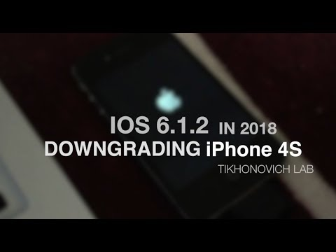 IOS 6 1 3 in 2018 | iPhone 4S