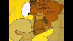 Homer Simpson URUGUAY, U R GAY