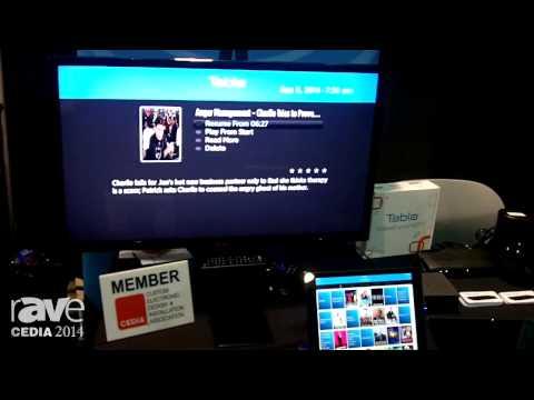 CEDIA 2014: Nuvyyo Offers Tablo DVR for HDTVs Using Over the Air Antennae