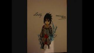 Drawing Sasuke Taka Chibi