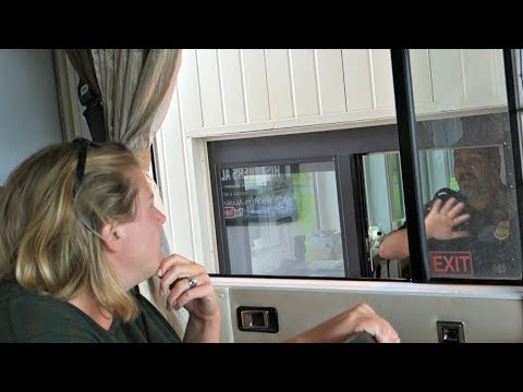 Why your WIFE should know how to DRIVE the RV ~ USA Border on the Alaska Highway