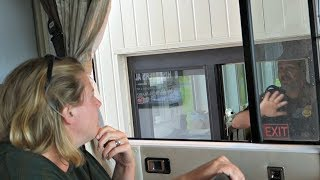 Video Why your WIFE should know how to DRIVE the RV ~ USA Border on the Alaska Highway download MP3, 3GP, MP4, WEBM, AVI, FLV Juli 2018
