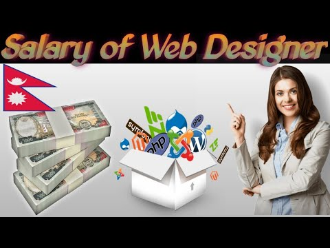 Salary Of Web Designer In Nepal Salary Of Web Designer Along With Job Title Youtube