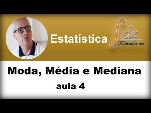 Grings - Moda, Média e Mediana aula 4 de YouTube · Duração:  29 minutos 10 segundos