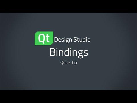 Qt Design Studio QuickTip: Bindings
