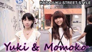 Yuki & Momoko - iTokyoMe, Muji, H&M - Harajuku Fashion / 原宿ファッション