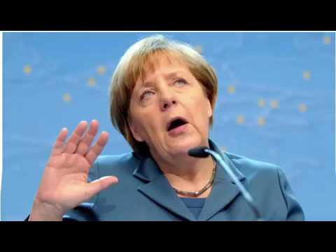 Merkel singt