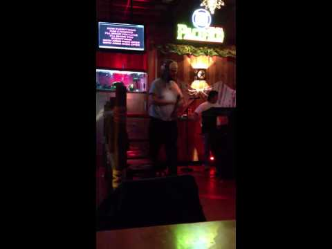With arms wide open (creed) karaoke prank