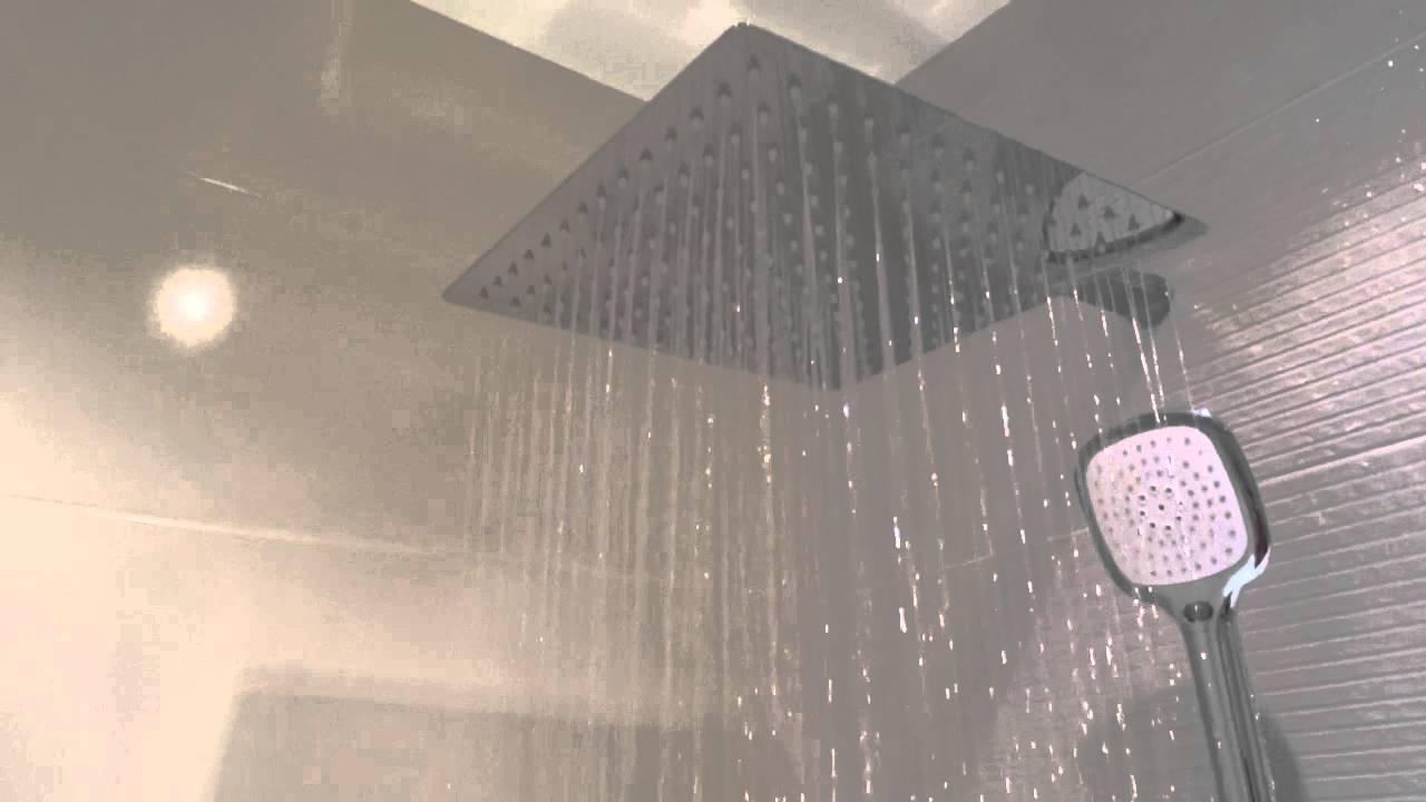 Душевая система со смесителем, с тропическим душем и ручной лейкой .