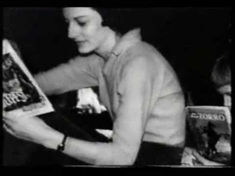 Rare Film Clips Of The Poet Anne Sexton