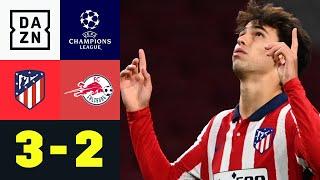 Joao Felix trifft doppelt und dreht Partie: Atletico - Salzburg 3:2   UEFA Champions League
