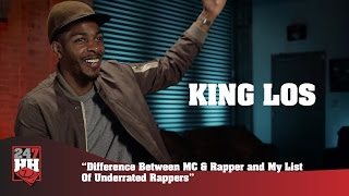 King Los - Underrated MCs Are Canibus, Big L, And Andre 3000 (247HH Exclusive) Resimi