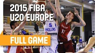 Greece v Bulgaria - Group B - Live Stream - U20 European Championship Men