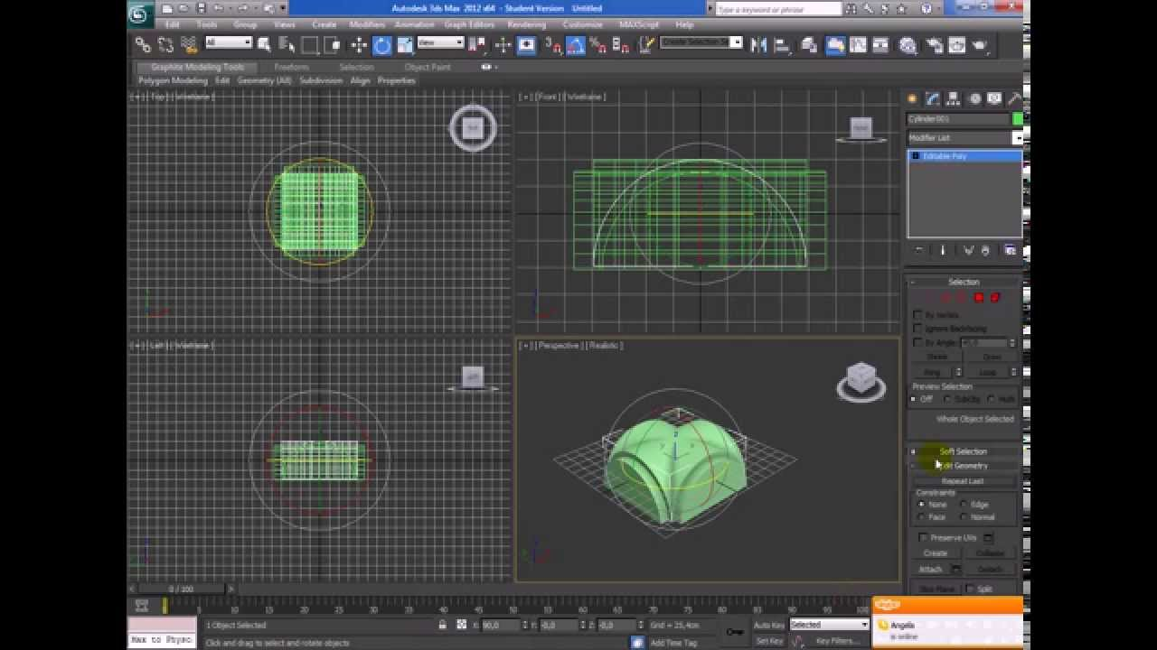 Videotutorial Autodesk 3dsmax - #6 Vault with Boolean - YouTube