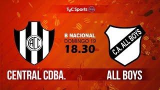 Central Cordoba vs All Boys full match