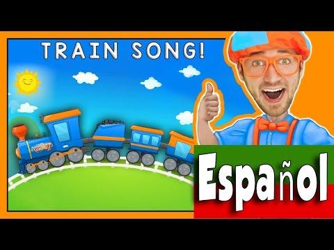 Trenes para Niños con Blippi – Canción divertida del Tren
