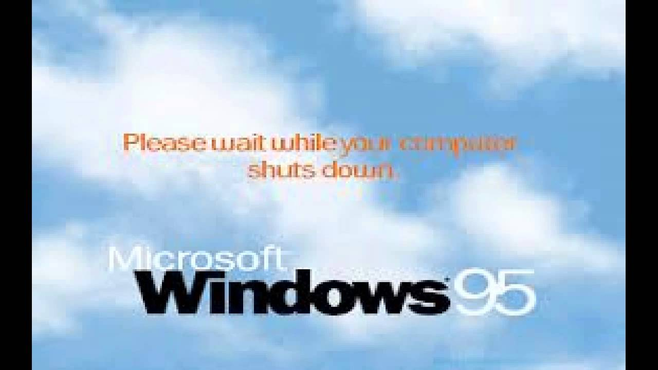 Windows 95 shutdown sound youtube for Windows 95 startup sound
