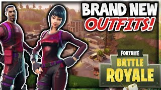 PLAYING WITH BRAND *NEW* FORTNITE SKINS (BRILLIANT STRIKER) & 9000+ KILLS 400+ WINS