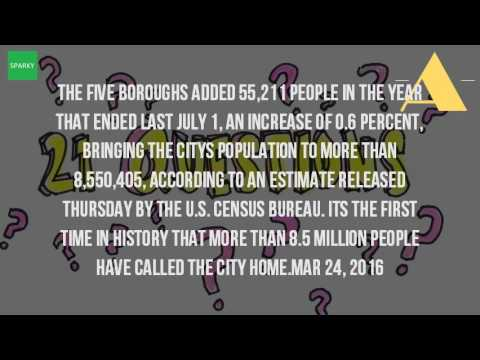 What Is New York Citys Population 2016?