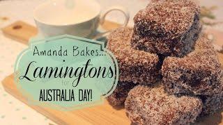 Amanda Bakes... Lamingtons For Australia Day!