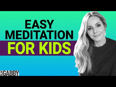 How to meditate with your kids