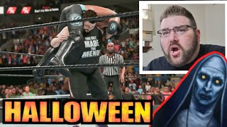 My 1st WWE 2k19 CAW vs AJ Styles For Game Master Halloween Challenge Stage 4 Reveal