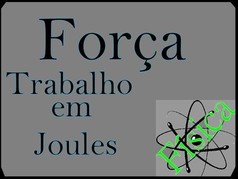 Física - Joule - Aula 01 - Força trabalho - Força Peso