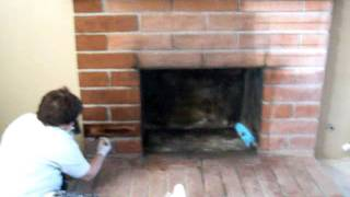 Updating Old Fireplace On A Budget