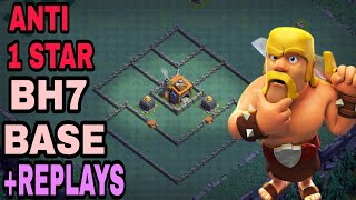 PERFECT Anti 1 Star BH7 Base w/PROOF | Best Builder Hall 7 Base 2018 | Clash of Clans