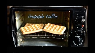 Easy Homemade Waffles using Prestige POTG 19 PCR OTG