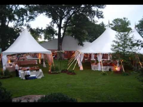 Planning an Outdoor Wedding in a Tent & Planning an Outdoor Wedding in a Tent - YouTube