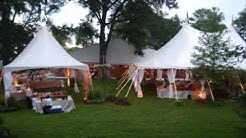 Planning an Outdoor Wedding in a Tent