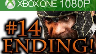 Ryse Son of Rome ENDING Walkthrough Part 14 [1080p HD Xbox ONE] - No Commentary