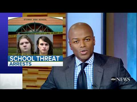 ABC World News Tonight 10/26/17 - 2 teens charged in attempted plot targeting Georgia high school.