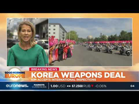 euronews (in English): Korea weapons deal