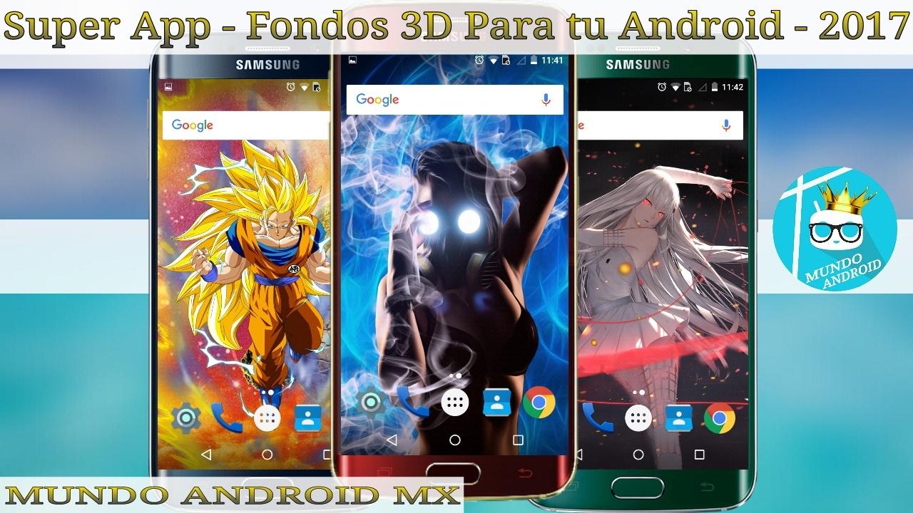 73765ca931d Fondos De Pantalla 3D | Para Tu Android Gratis | 2017 - YouTube