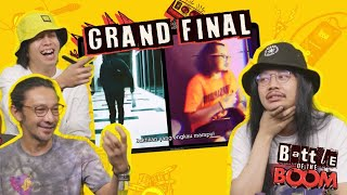 AG Coco, Qi Razali & Youk Bunkface Reacts to the Finalists of Battle of the Boom!