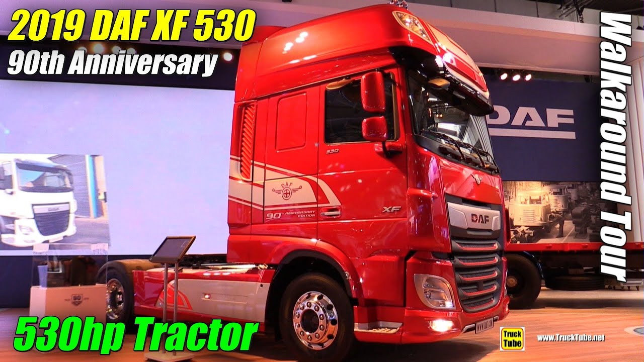2019 Daf Xf 530 Ft 90th Anniversary Edition Exterior And