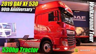 Video 2019 DAF XF 530 FT 90th Anniversary Edition - Exterior and Interior Walkaround - 2018 IAA Hannover download MP3, 3GP, MP4, WEBM, AVI, FLV November 2018