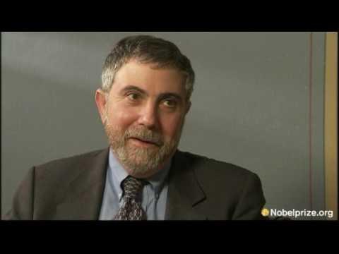 Interview with Paul Krugman, 2008 Economics Prize