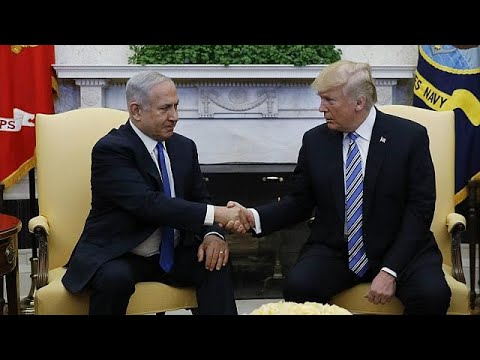 Netanyahu in USA as trouble brews at home