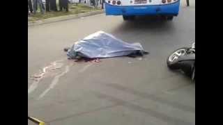 acidente de moto mata motoqueiro em frente ao terminal de larangeiras
