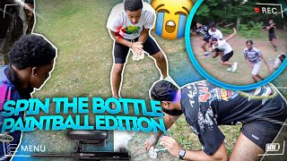 $10,000 SPIN THE BOTTLE CHALLENGE! PAINTBALL EDITION❗️