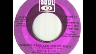 Jamal Trice Nothing Is Too Good For You Baby