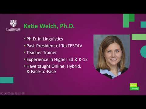 Differentiating Instruction In Online Classrooms With Katie Welch