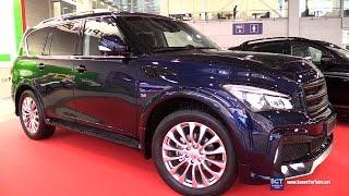 Infiniti QX80 Optimus by FERZ - Exterior Walkaround - 2016 Moscow Automobile Salon
